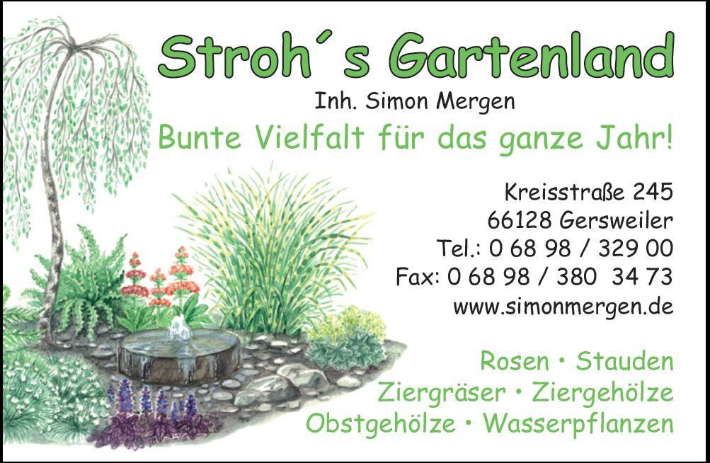 Garten und landschaftsbau visitenkarten  Simon Mergen | Garten- und Landschaftsgestaltung